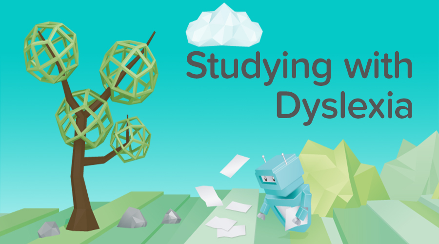 Banner of Dyselxia - Study Tips for Dyslexic Students