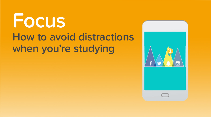 Banner of How to Avoid Distractions When Studying