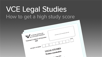 Thumbnail of How to get a 45+ in Legal Studies