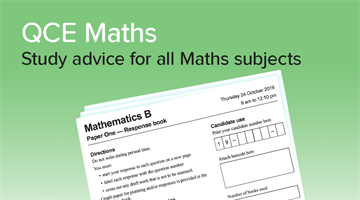 Thumbnail of How to get a 90+ in QCE Maths