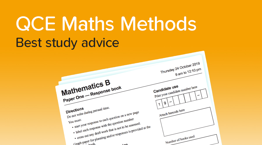 Banner of How to get a 90+ in Maths Methods!