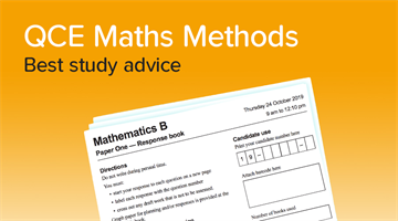 Thumbnail of How to get a 90+ in Maths Methods!