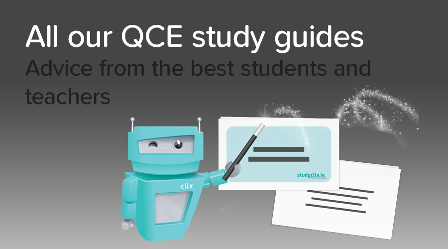 Banner of All QCE 90+ Scoring Subject Guides