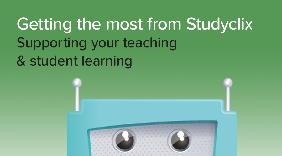 Banner of Teachers: How to get the most out of Studyclix