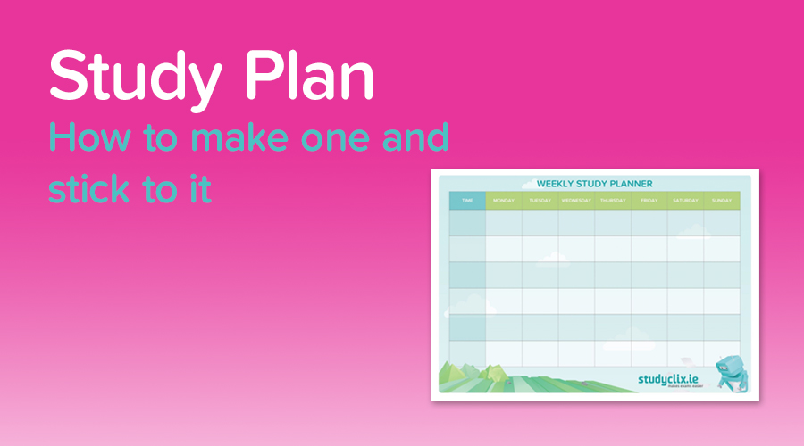 Banner of Making A Perfect Study Plan