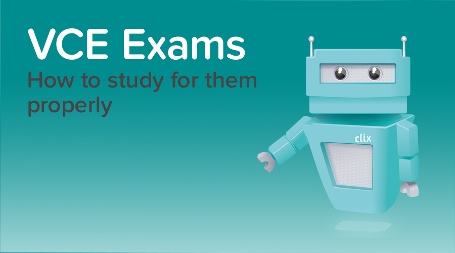 Banner of Are You Studying Properly for your VCE exams?