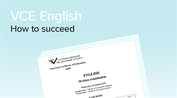 Thumbnail of How to get a 45+ in VCE English