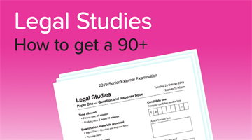 Thumbnail of How to get a 90+ in Legal Studies!