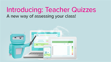 Thumbnail of Introducing: Teacher Quizzes!