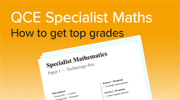 Thumbnail of How to get a 90+ in Specialist Maths! Advice from an expert student