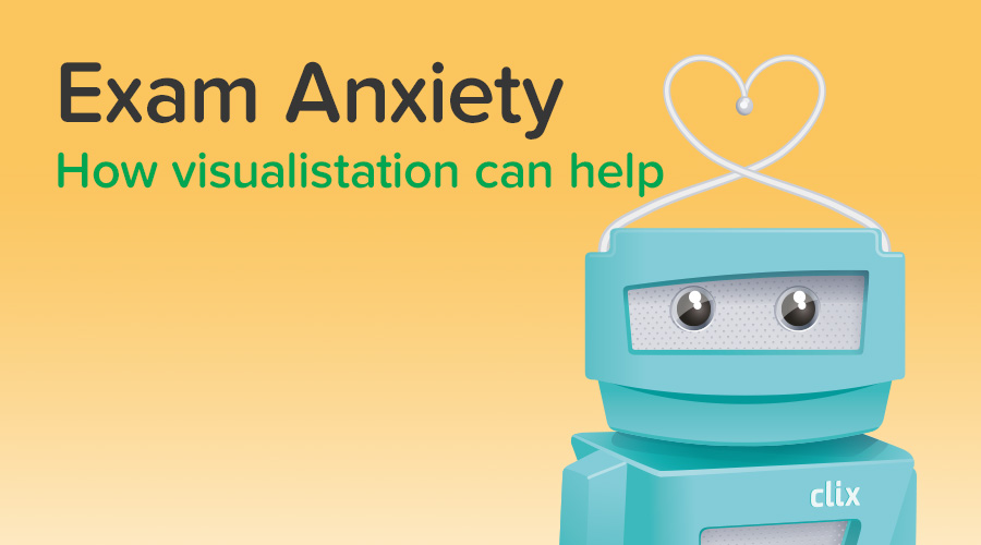 Banner of Exam Anxiety: How Visualization Can Help Reduce It