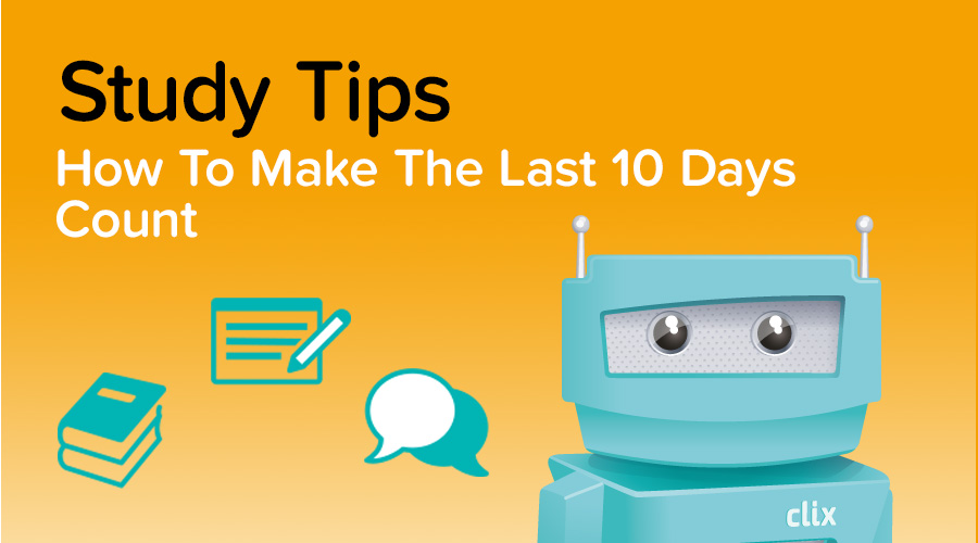 Banner of 10 Tips for the Last Few Days before VCE Exams